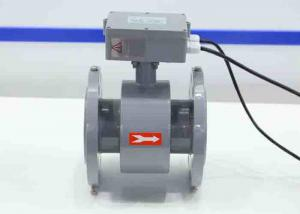 China Electromagnetic flowmeter for slurry flow meter in sewage treatment plant DN100 Rubber liner on sale