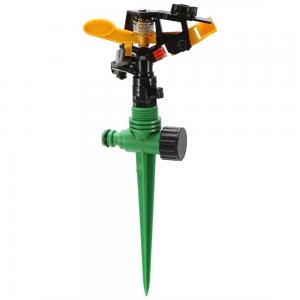 China Underground Rain Bird Plastic Impact Water Sprinkler With Spike IS09000 Certification on sale
