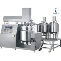 Pharmaceutical Ointment Vacuum Emulsifying Machine , Emulsification Equipment