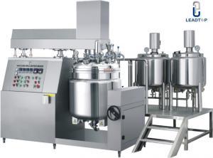 China Pharmaceutical Ointment Vacuum Emulsifying Machine , Emulsification Equipment on sale