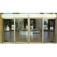 China Durable Automatic Sliding Glass Doors Commercial Driver With Bank on sale