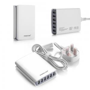 China 50W / 10A Multi Port USB Charger 6 Port USB Charging Station For All Smart Devices on sale