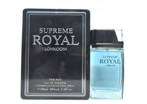 China Gmpc Certified Top Men Perfume Blue Color Supreme Royal Lonkoom on sale