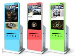China Free Standing Self Service Kiosk / Digital Signage Kiosk Waterproof on sale