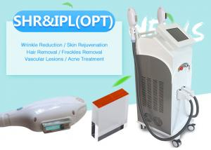 China Shr / Opt / IPLl+ Elight + Rf  IPL Acne Improvement And Hair Removal Machine on sale