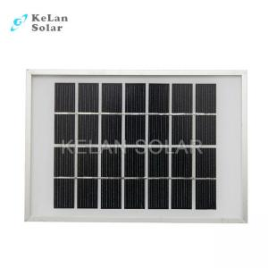 Quality Waterproof OutdoorPersonal Solar PanelMinimizes 5 Watt For Remote Power Supply for sale