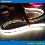hot sale white led flat 100v 16*16m neon flex rope for signs