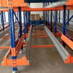 High Density Warehouse Shuttle Storage System Radio Shuttle Pallet Pack For Food Industry