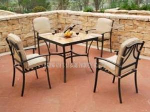 Quality Weatherproof Outdoor Patio Furniture Aluminum Patio Furniture Sets For Backyard for sale