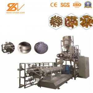 China 380V / 50HZ Animal Feed Processing Machine Dog Cat Pet Chews Treat Production on sale