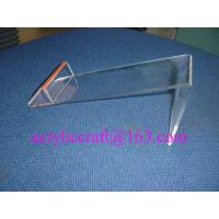 2015 Best-selling Acrylic shoes display stand, plexiglass shoes display rack