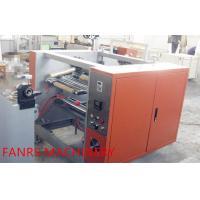 China Semi Automatic Housekeeping Aluminium Foil Rewinder Machine With Auto Feeding on sale