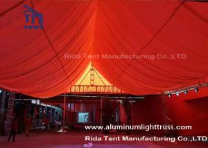 China Aluminum Outdoor Concert Truss Stage / Heavy Duty Square Truss System on sale