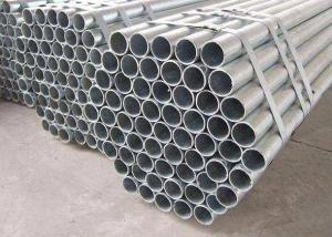 China Hot Dipped Seamless Galvanized Steel Pipe ASTM A53 Material Zinc Coated Surface on sale