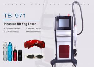 China Pico Second 755nm Nd Yag Laser Tattoo Pigmentation Removal Machine Freckles Removal on sale