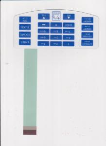 China Household Appliances Flexible Membrane Switch Panel 0V - 30V DC on sale