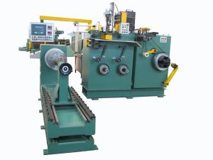 China High Speed HV Foil Winding Machine Used To Wind HV Coils With Foil Strip on sale