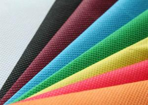 China Multi Color Nonwoven Polypropylene Fabric for Bags / Table Cloth / Mattress Cover on sale