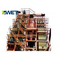 China Biomass Fired Circulating Fluidized Boiler , Durable 25t /H Power Station Boiler on sale