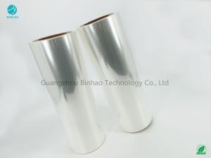 China Biaxially Oriented Polypropylene BOPP Film Long Cases Clear Film 76mm Inner Dia on sale