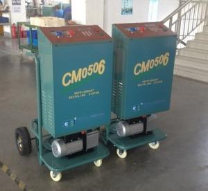 China CM05 Large wheels R12 R22 recovery equipment for production line on sale