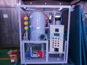 China Máquina móvel pequena da filtragem do óleo do transformador on sale
