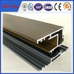 China thermal break aluminium windows and doors frame price per sq.m wholesale