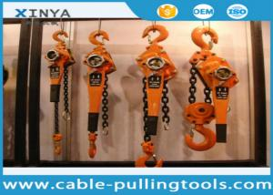China Basic Construction Tools 3 Ton Capacity Lever Chain Hoist Lever Block on sale