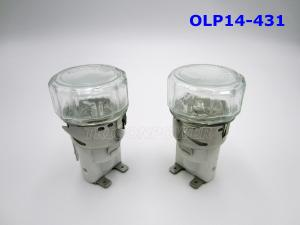 China Stainless Steel / Copper Oven Lamp Holder OLP14-431 15w / 25w For Electrical on sale