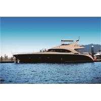 Fiberglass Sport Motor Yachts 70 Feet Engine Capacity Volvo 725hpx2 21.6m Length