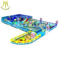 China Hansel amusement indoor play area children paly game soft playground for kids on sale