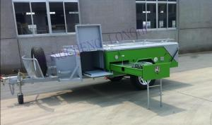 China New model luxury recreational vehical trailer CE on sale
