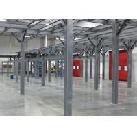 Q235B Q345B Prefab Steel Buildings H Beam Steel Frame For Shopping Mall / Supermarket