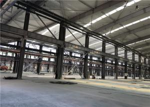 China Prefabricated Metal Sheet Steel Structure Building With Rolling Or Sliding Door on sale