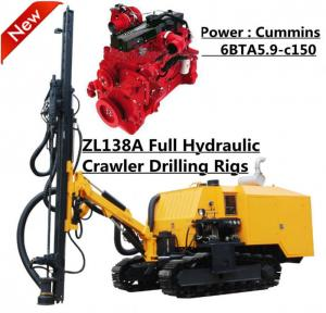 China 18m 112Kw Diesel Engine Rock Drilling Machine , DTH drilling Rig on sale