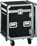 Black Wooden Standard Rack Flight Case / 16U Flight Case / Storage Case