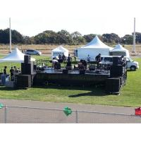 Best Selling Black 0.4-0.6m Adjsutable portable outdoor stage portable stage curtain backdrop