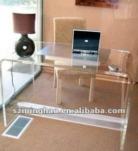 China Modern acrylic computer table for living room on sale