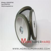China 1A1 D750 Resin Bond Diamond Grinding Wheel For Thermal Spray Coating  Alisa@moresuperhard.com on sale