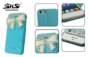 China Waterproof Mobile Phone Covers Apple iPhone Protective Cases With Jeweled on sale