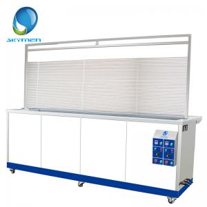 China 15600W Ultrasonic Blind Cleaner With Drying Function For Removing Dirtiness on sale