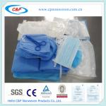 CE&ISO Approved Disposable Surgical Dental Drape Pack with EO Sterile