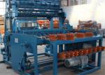 China Hinge Joint Knot Weaving Grassland Fence Machine 3.5T 5.5kw Netting Width 1422mm wholesale