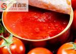 Salsa de tomate de tomate conservada agridulce de la pasta de tomate sin los preservativos