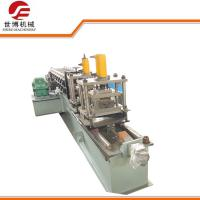 Galvanized Steel CZ Purlin Roll Forming Machine Metal Stud And Track Roll Forming Machine