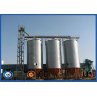 Corrugated Hot Dip Galvanized Steel Grain Silo With Temperature Moisture Inspection Sensor