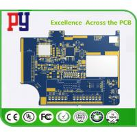 China Blue Two Layer Quick Turn Pcb Prototypes , FR4 Circuit Board 2 Oz Copper Thickness on sale