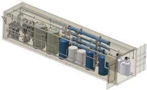 China Large RO Seawater Marine Sailboat Water Maker / Desalination Plant , 42000 ppm on sale