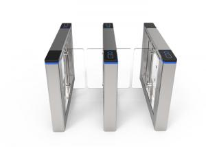 China Intelligent Flap Speed Gate Turnstile Automatic Counting And Displaying Number on sale