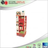 China 4 faces cardboard display stand for shampoo advertising from China supplier on sale